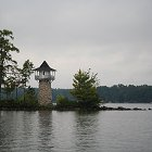 Spindle Point Lighthouse on Lake Winnipesaukee, Meredith NH. Photograph by Joe Driscoll.